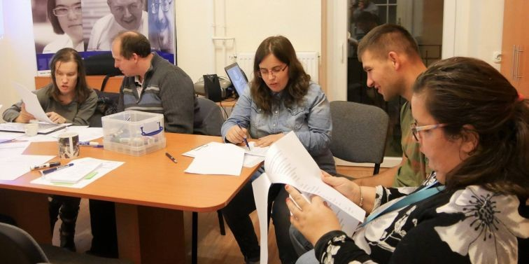 Hungarian self-advocates teach students at universities