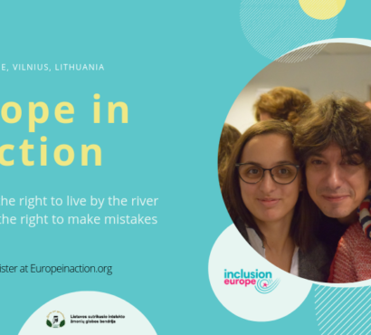 """Registrations now open! Europe in Action conference """"Making decisions – living independently"""""""